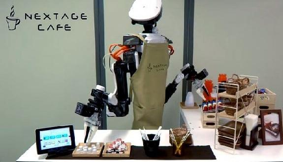 Kahve Yapan Robot:Nextage