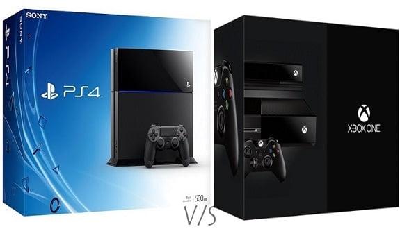 PS4 ve Xbox One Kafa Kafaya Gidecek