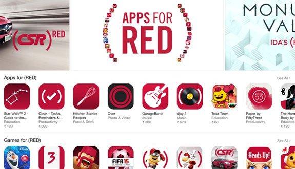 Hediyenizi Apple'dan Seçin, AIDS'e Karşı Savaşı Destekleyin