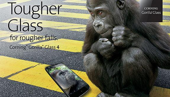Gorilla Glass 4 Geliyor