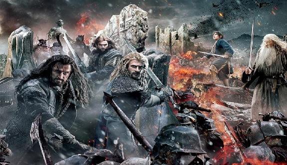 Hobbit: Beş Ordular Savaşı Filminden Son Fragman