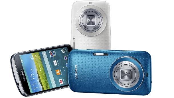 Fotoğraf Makinesi ve Akıllı Telefon: Galaxy K Zoom