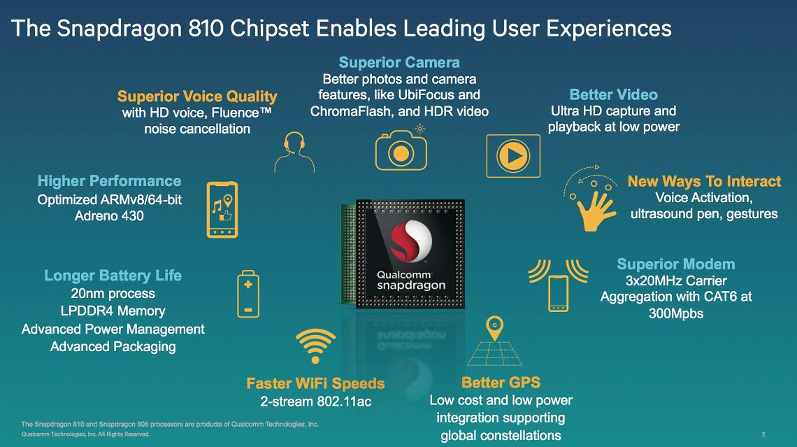 Qualcomm'un Snapdragon 810 Test Sonuçları Sızdı