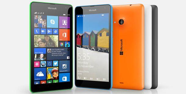 Microsoft Logolu Uygun Fiyatlı Telefon: Lumia 535 İnceleme