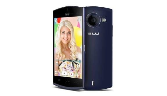 BLU'dan Selfie Odaklı Akıllı Telefon