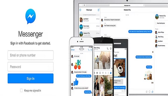 Facebook Messenger'ın Web Versiyonu Geldi
