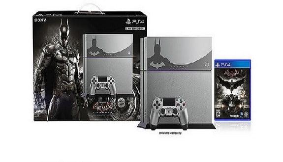 PlayStation 4 Batman'e Büründü
