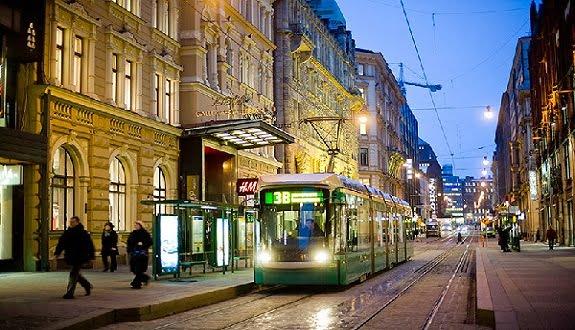 Helsinki Sokaklarında Bedava İnternet