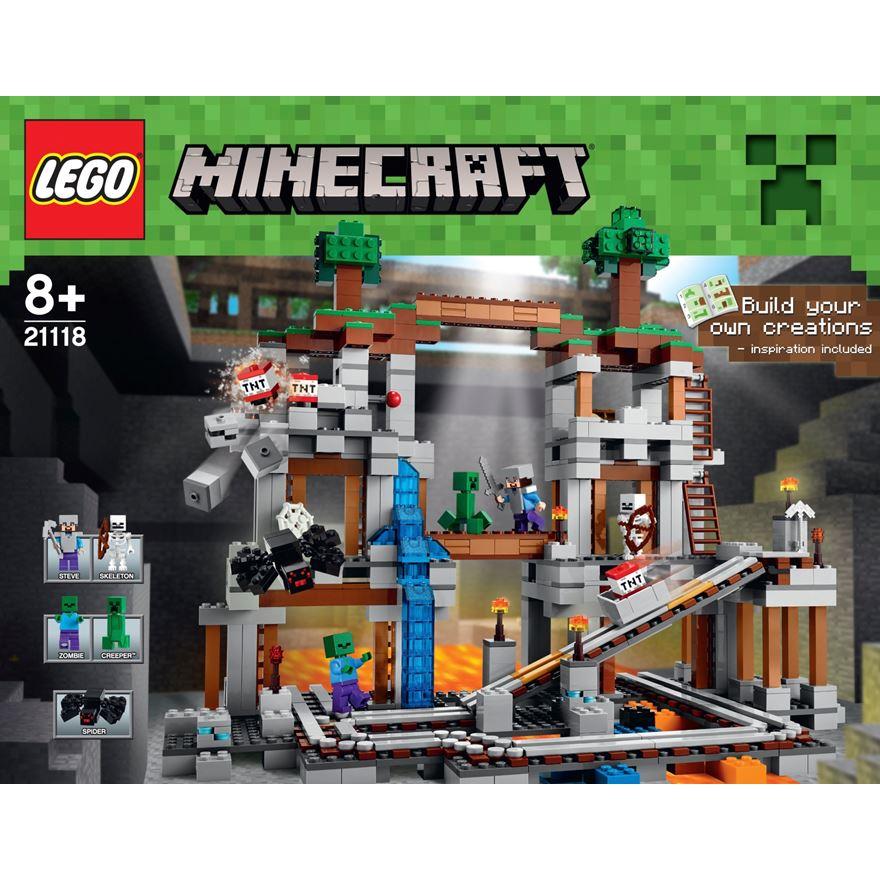 Lego Kendi Minecraft'ını Yaptı!