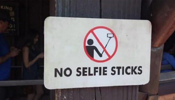 Selfie Çubuğu Burada Yasaklandı