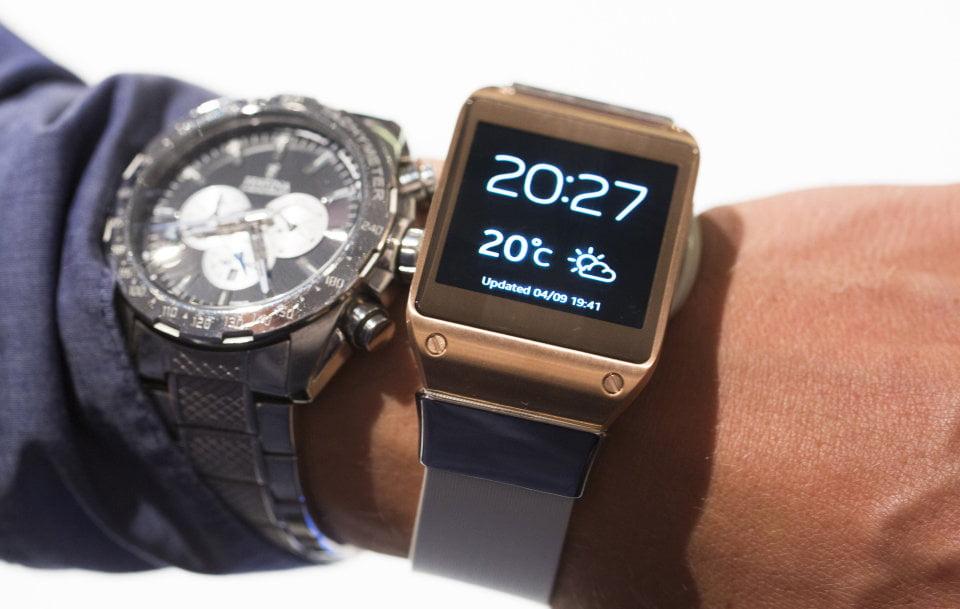 Yeni Samsung Galaxy Gear yuvarlak tasarıma sahip olacak