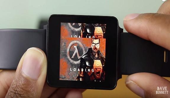 Half-Life'ı akıllı saatte çalıştırdılar