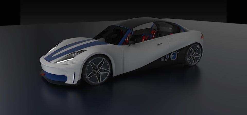 3D Yazıcıdan Çıkan Otomobil Trafiğe Hazır