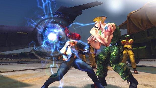 Street Fighter 5 uzatmaları oynuyor
