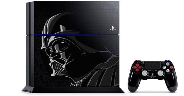 Darth Vader'dan esinlenen yeni PS4 sistemi