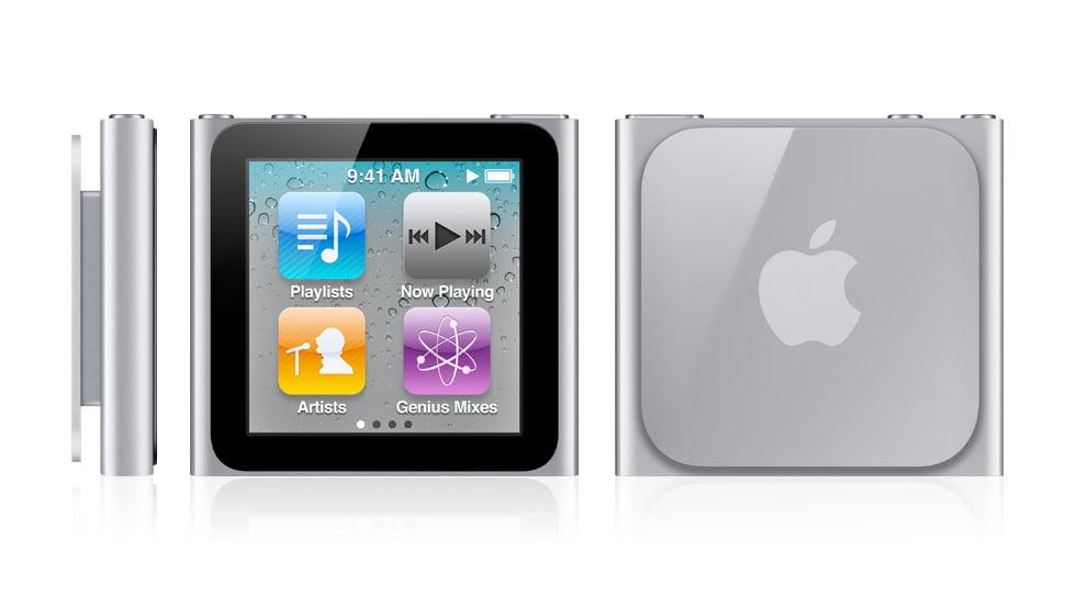iPod Nano için güncelleştirme yayınlandı