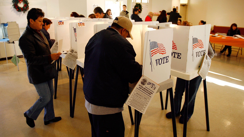 ABD'de oy selfie'leri yeniden serbest
