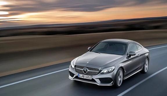 2017 model büyüleyici Mercedes C-Class Coupe'un fotoğrafları geldi