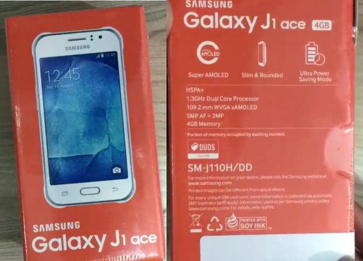 Samsungtan Yeni Butce Dostu Telefon Galaxy J1 Ace