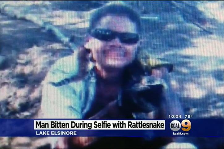 Selfie merakı yine az kalsın öldürüyordu!