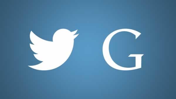 Google ve Twitter'dan ortak calisma!