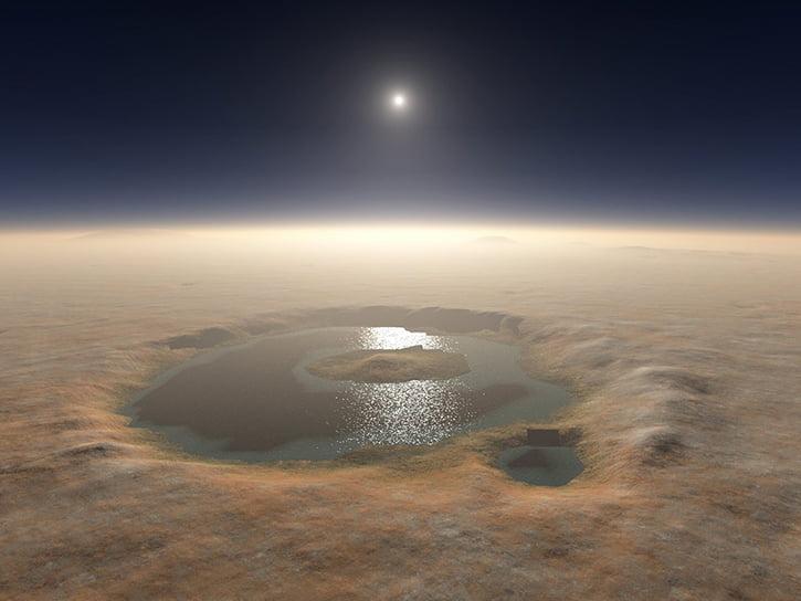 Mars'ta sıvı su bulundu!