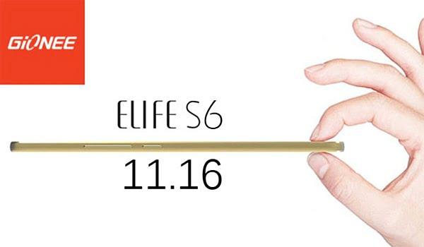 Gionee Elife S6 Özellikleri Göz Dolduruyor