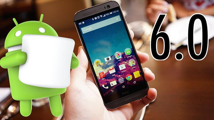 HTC'de Android 6.0 bu sefer One M9'a geldi!