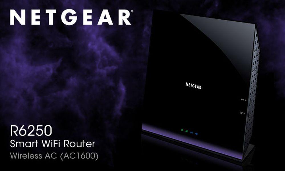 NETGEAR R6250'yi güncelledi