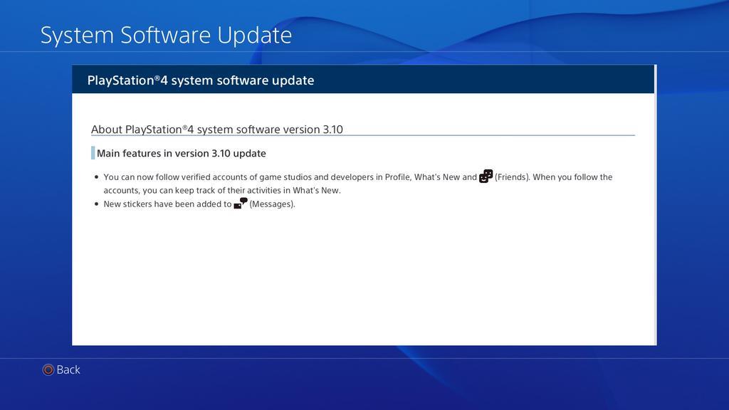 PlayStation 4 güncellendi!