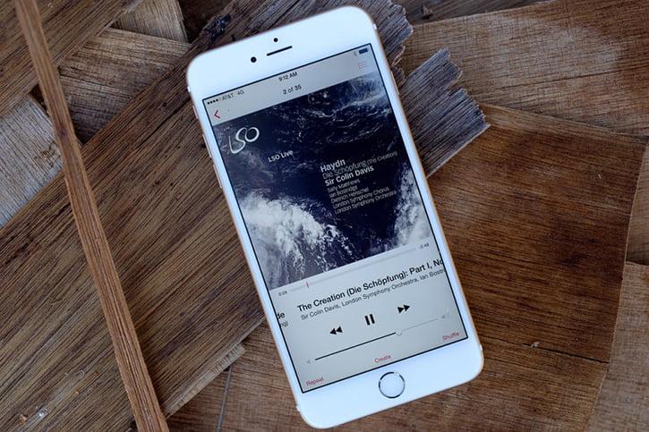 Как на айфоне сделать фото с музыкой