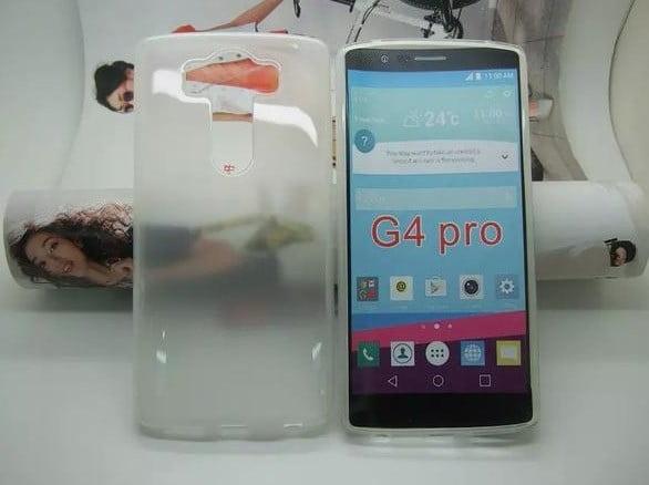 LG G4 Pro'nun Kasası sızdı!