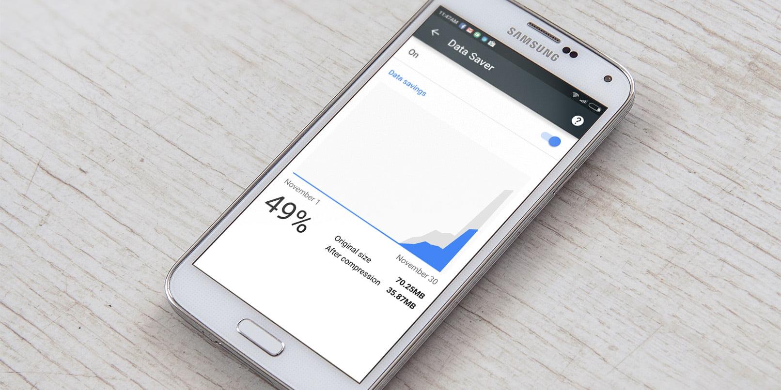 Chrome for Android, internet yavaşladığında naz yapmayacak