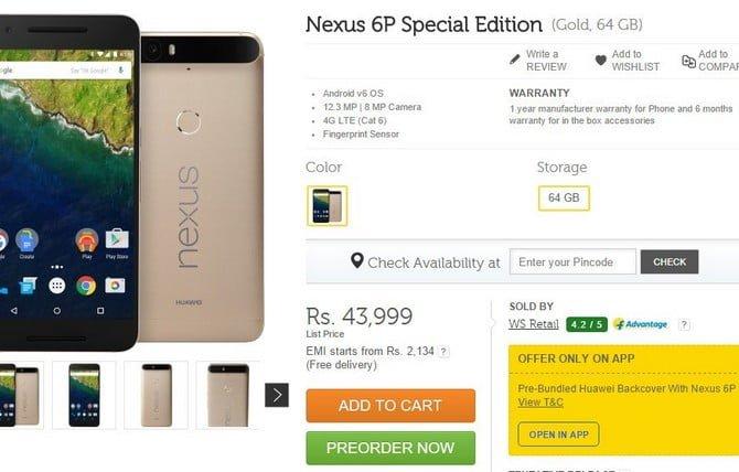 Özel olduğu sanılan ama özel olmayan telefon: Nexus 6P Special Edition!