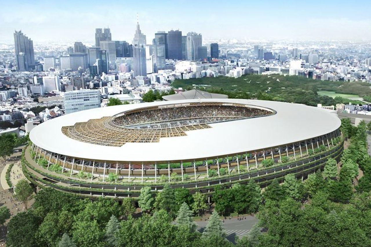 Tokyo Olimpiyatlar stadyumunun tasarımı belli oldu