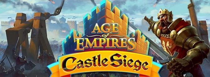 Age of Empires: Castle Siege'ye Güncelleştirme geldi!