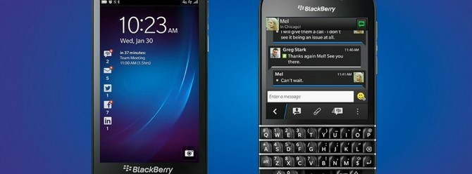 BlackBerry, BlackBerry 10'dan vazgeçmiyor!