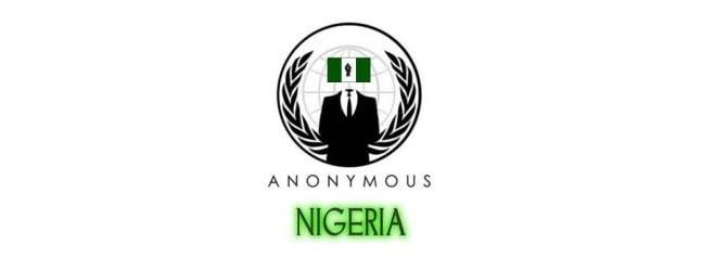 Anonymous'un Hedefinde Şimdi de Nijerya Var