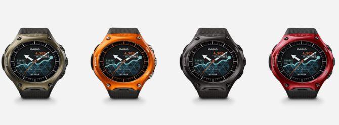 Casio ilk akıllı saatini CES 2016'da tanıttı