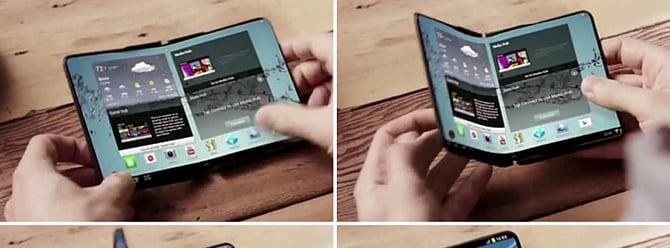 Katlanabilir ekranlı telefonlar geliyor!