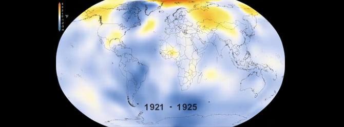 NASA küresel ısınmanın 135 yılını ortaya çıkardı! – Video
