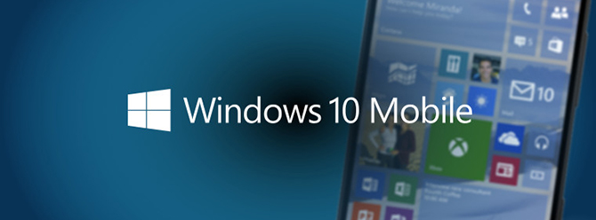 Microsoft Windows 10  Mobile'den Vazgeçmiyor