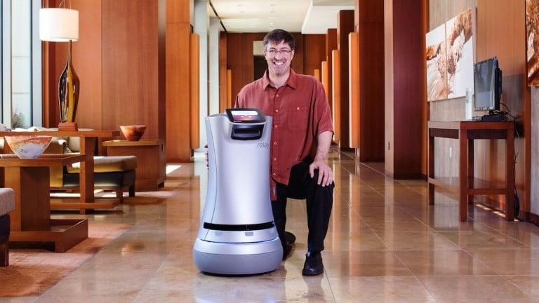 Kaliforniya otellerinde robotlar oda servisine başladı!