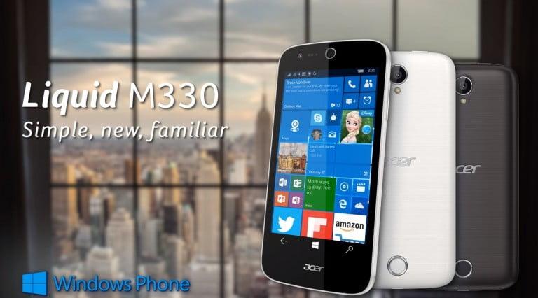 Acer Liquid M330 ortaya çıktı!