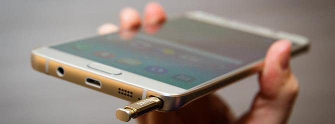 Samsung'un Yeni Amiral Gemisi Galaxy Note 7 Olacak