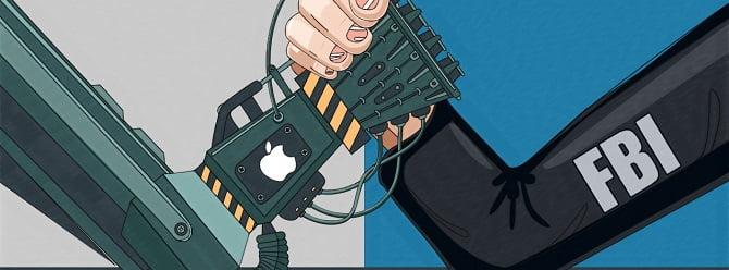 Apple'ın şifresini kırmak için zorluyorlar!