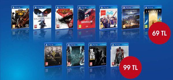 PS4 oyunlarında indirim günleri başlıyor