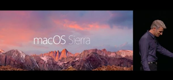 macOS Sierra'nın ön tanıtımı yapıldı
