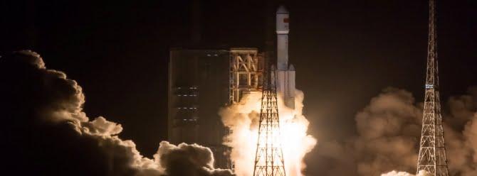 Çin uzaydaki uydularına yakıt ikmali yaptı