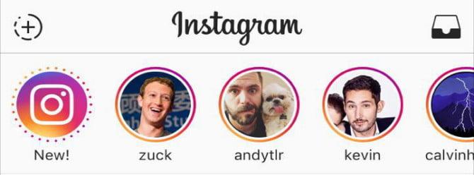 Instagram'a öykü tavsiyeleri geliyor